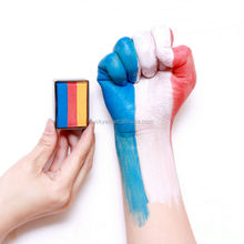 OEM!!! FDA Approved Wholesale Price List World Cup Brazil Sport Fans Professional Face Body Paint