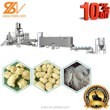 new type new design soya chunks processing machine plant