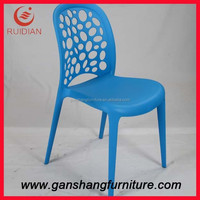 Modern design injection mould plastic chair used dining room furniture for sale