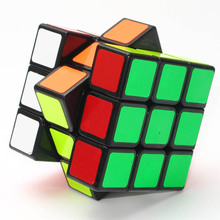 Stress reliever 3 layer stickerless india magic fidget puzzle cube