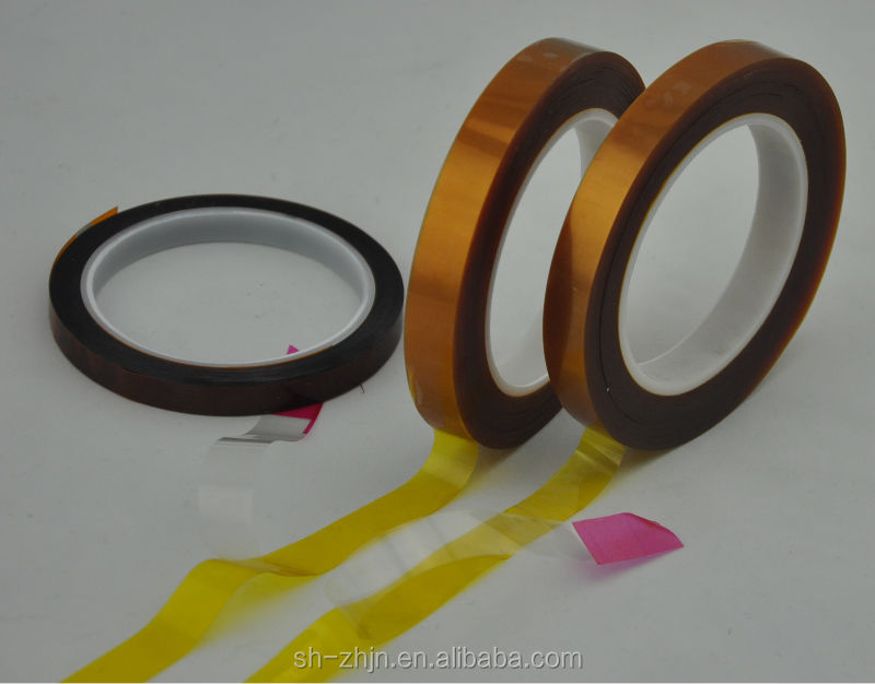 High temperature silicone adhesive double sided PI film polyimide tape for FPCB and PCB