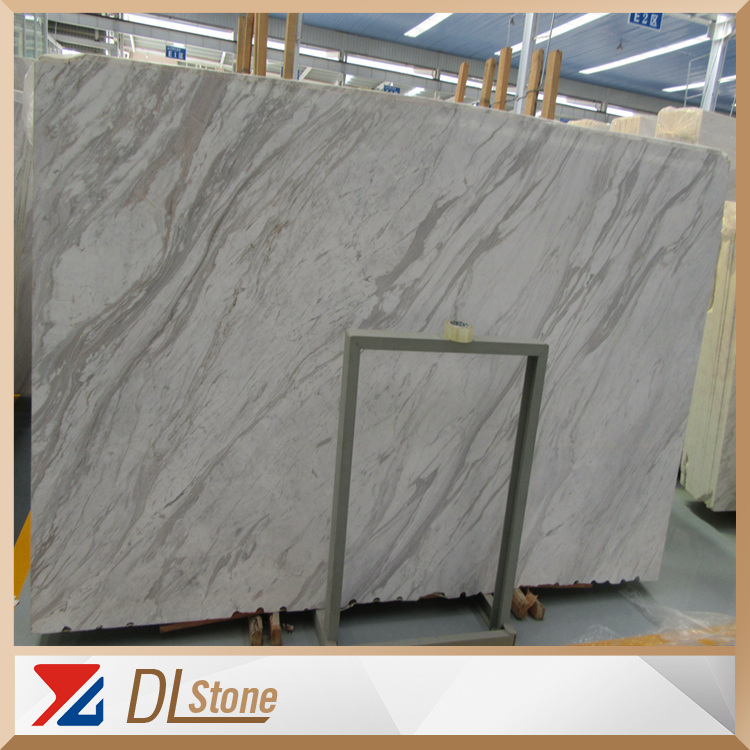 Popular 2cm Volakas White Marble Slabs