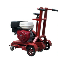 asphalt concrete groove cutter, road cutting machine; asphalt pavement slotting machine for sale