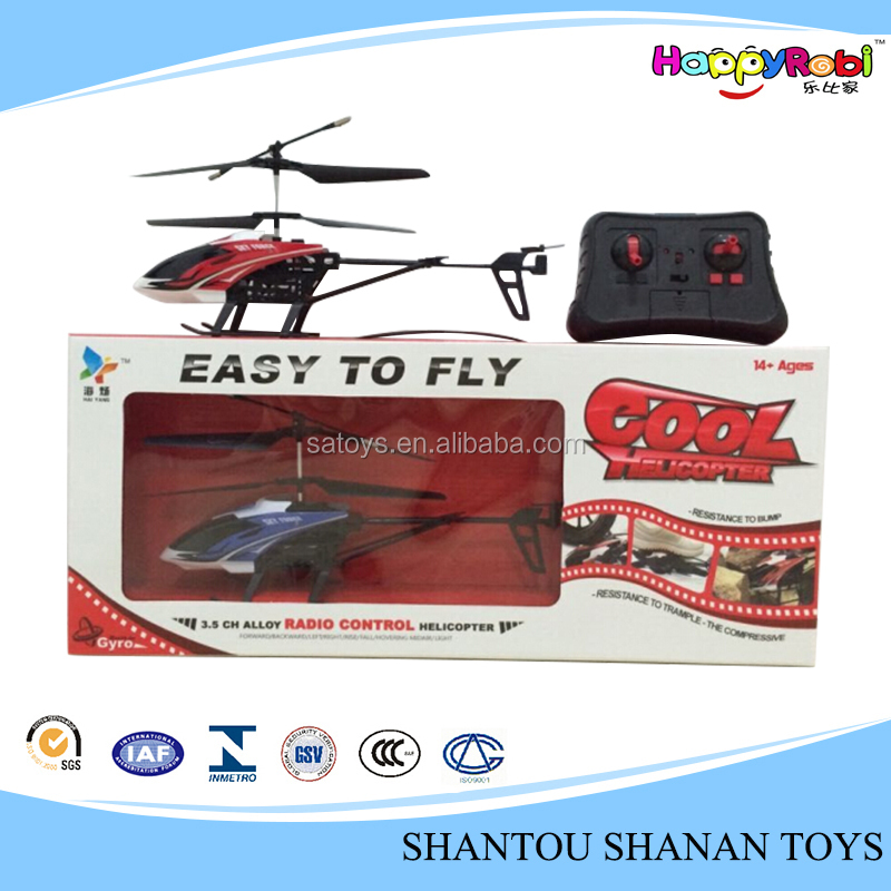3.5 channel remote control toy alloy rc air plane