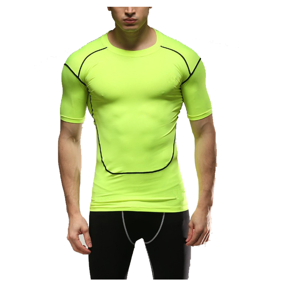 Nuevo modelo de los hombres t shirt de moda cortocircuitos for La fitness t shirt