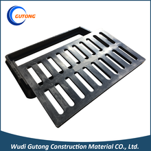 Economic and reliable square sewer manhole cover drain