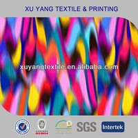 Fabric swimwear 2014 design poly spandex fabric with chlorine resistance
