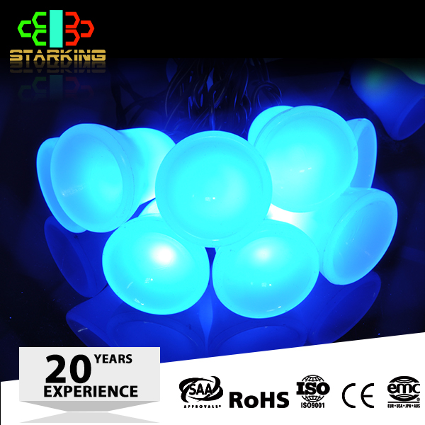Cotton ball outdoor led string light high quality