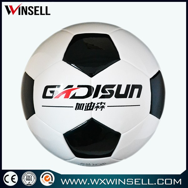 good quality 2.6mm laser indoor football balls for kids toy