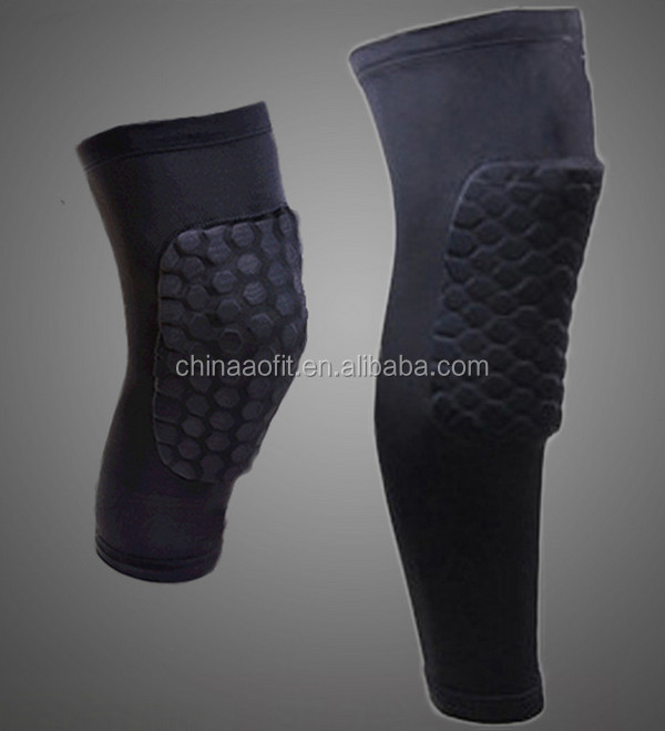 Orthopedic Long Knee Padding Support Brace With Honeycomb