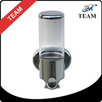 TM-05 100% ABS chrome ABS Soap dispenser plastic bathroom accessories liquid soap dispenser