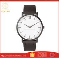 High Quality Classic Men Sports Mesh Strap Watches Custom Brand Logo Watches
