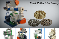 ISO 9001 certified sheep cattle poultry feed mixer pellet mill