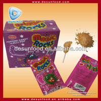 Magic Rock Popping candy with lollipop