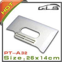 Wall Stickers Tool Plastic White Squeegee Has Hand Shank