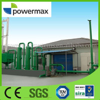 wood chips pellet briquette power generator