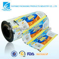 Custom design thermal lamination pet plastic film for food sachet
