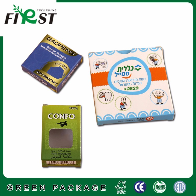 Professional export OEM factory made soap packaging ,paper box for baby needs package