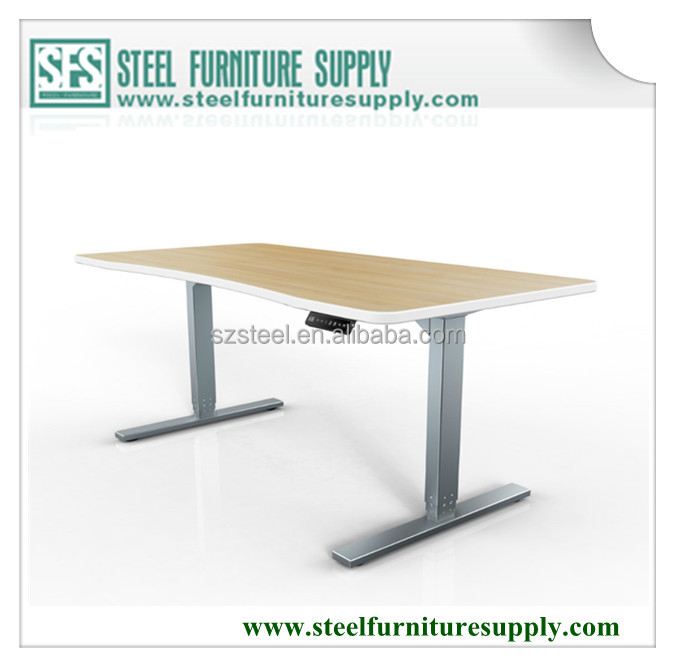 electric height adjustable table, up down table, electric stand up desk