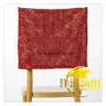 whosale cheap fancy sequin spandex chair sashes caps for wedding banquet
