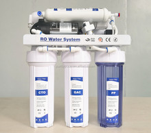 OEM RO water filter system 7 stage alkaline reverse osmosis home water purifier machine