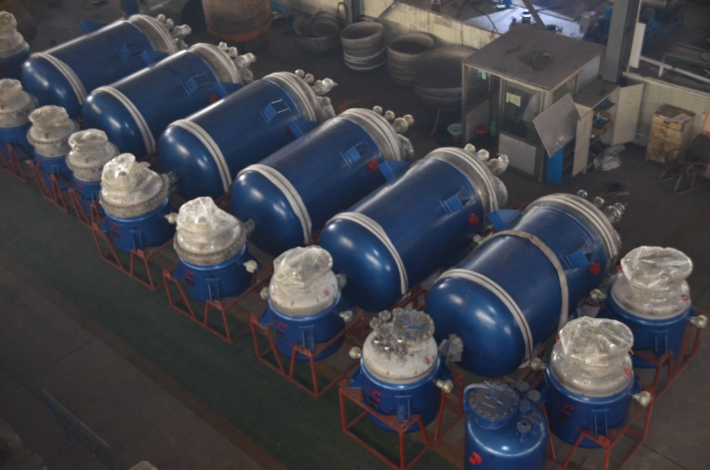 ASME quality stainless steel mixing jacket reactor