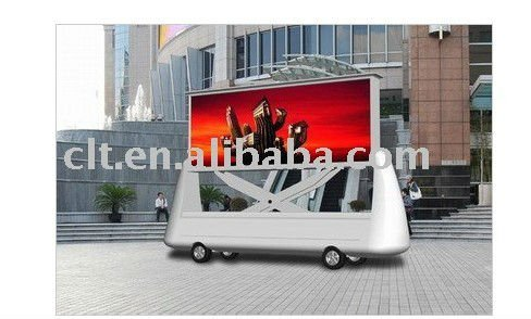 P20 Outdoor Full-color Mobile Advertising LED Trailer for Truck/Car