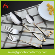 Hammered steel cutlery set, Silver spoon, fork and knife for amy, Metal spork flatware