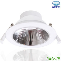 chip LED Nichia COB LED down light dimmable 14W