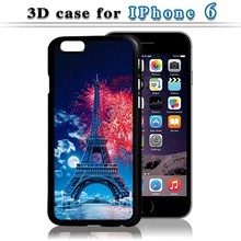 2016 Newest popular 3D Eiffel Tower waterproof case for samsung galaxy j7 ,Top Quality case for samsung galaxy core 4g g351