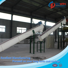 Roots tuber processing cassava cleaning machine