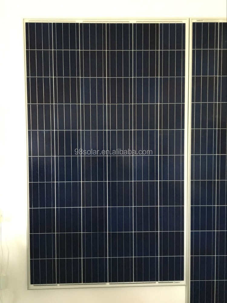 Low price 270W Chinese Polycrystalline Solar Panels With Hight Quality 1640*992*35mm OEM Acceptable
