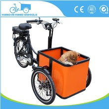 factory price three wheel flexible cargo tricycle with cabin