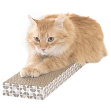 Amazon Hot Selling Durable Pet Product send catnip Cat scratch board Cat Toy