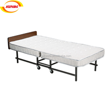 China make cheap rollaway hotel extra folding bed hospital extra bed metal comfortable foldable bed A-067