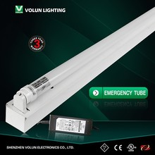 24W 1200MM backup battery emergency led tube light T10/T8