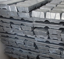 Cast metal use High quality Zinc ingot