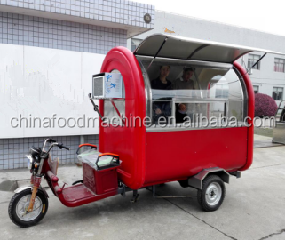 Mobile Food Cart , Fast food truck , outdoor mobile food trailer