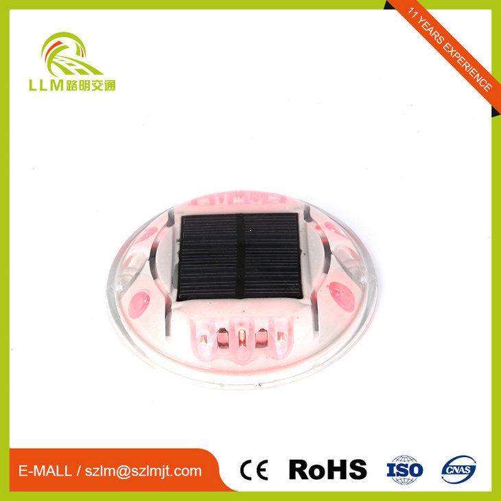 500m visible distance road stud round