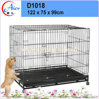pet products iron dog cage metal wire dog kennel for sale