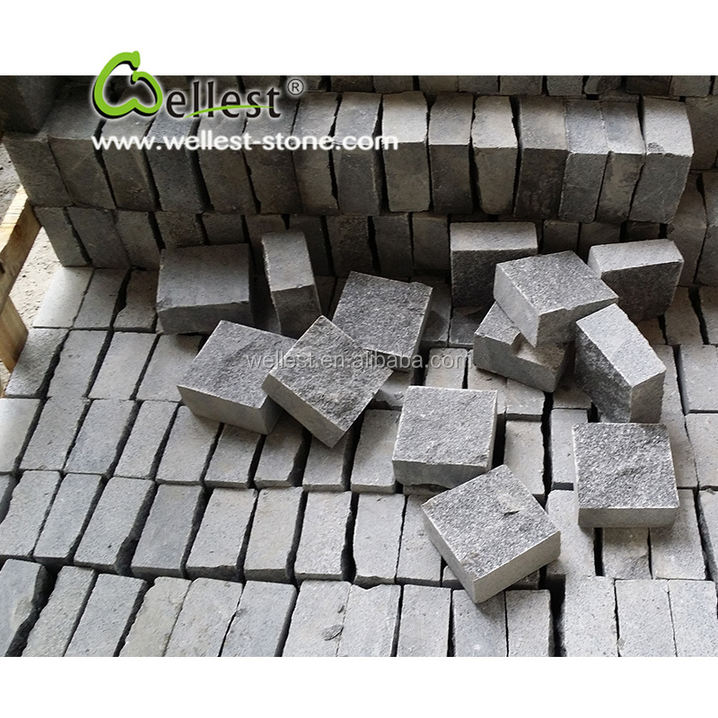 cheap grey granite patio driveway paver stones for sale