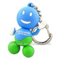Customized 3D keychain pvc