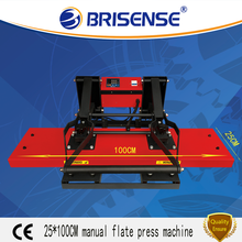 Factory Direct Sale Brisense Brand Digital Manual 25*100 Heat Transfer Printing Machine with CE