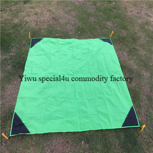 SPKD-069 factory direct sell multi purpose beach blanket foldable beach blanket waterproof blanket