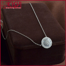 2014 wholesale zircon women fashion pendant necklace