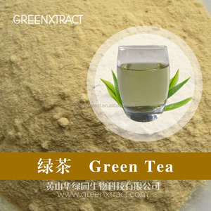 Pure Water Extracted Instant Green Tea Powder