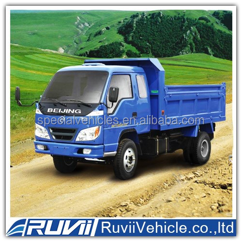 China Best supplier 4x2 ZJH3022 RUVII dump truck / Special sale for 2016