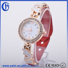2015 new arrival wholesale chinese red fashion lady watch