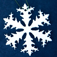 Acrylic Christmas Wall Hanging Decoration, Acrylic Christmas Snowflake Gift