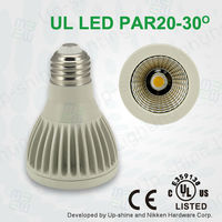 Quick delivery!!!UL & Energy star listed Sharp COB chip 5 years warranty shenzhen factory price track spotlight connector